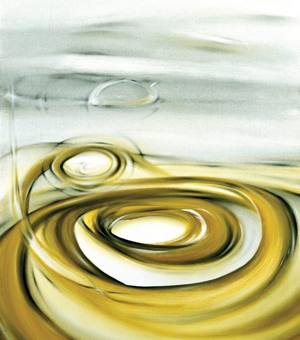 Circular Landscape 76x102